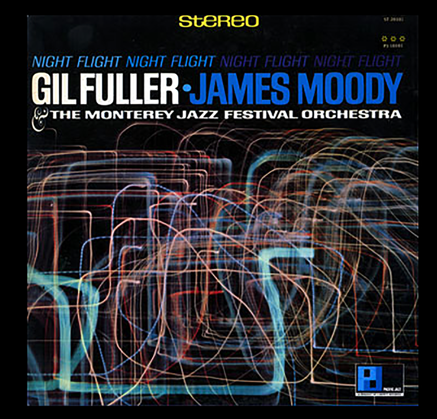 Gil Fuller Night Flight with James Moody Album Cover